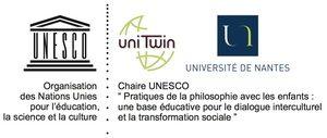 Logo de la Chaire UNESCO de la pratique des ateliers philo