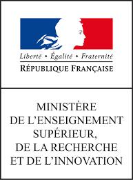 Logo Ministère Enseignement supérieur et de al recherche